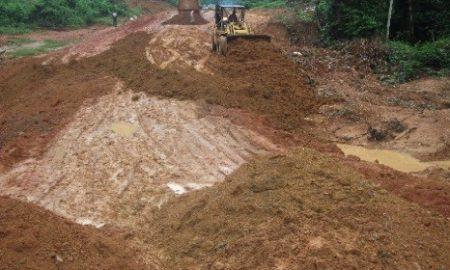 région du Guémon, six cents kilomètres de pistes à reprofiler
