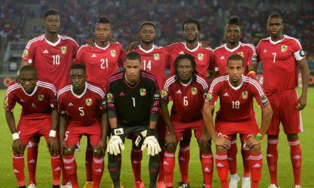 Football - Congo-Brazza - Libéria - CAN 2019