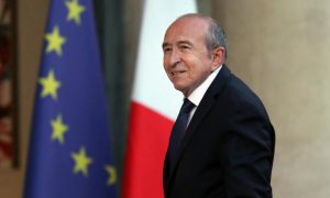 France - Gérard Collomb - Macron