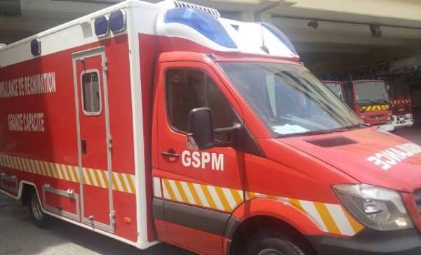 GSPM - pompiers - marine - accident