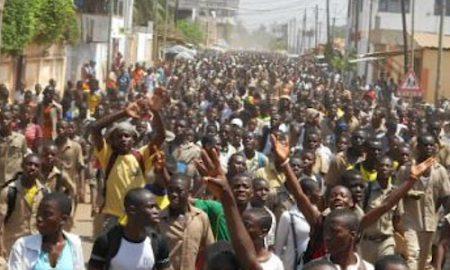 Guinée - Conakry - manifestation - élèves