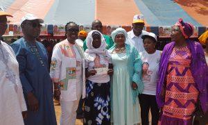 Kaniasso - Coulibaly Assetou - RHDP - chèque - don