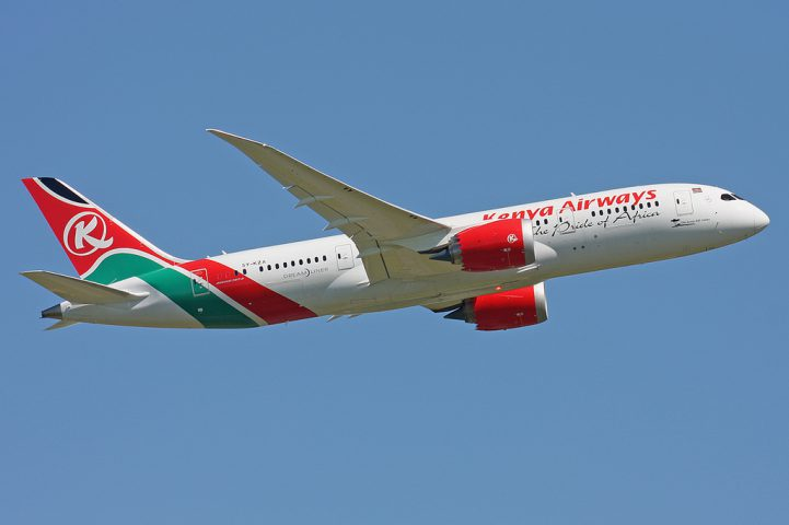 Kenya Airways - Boeing 787 - compagnie aérienne - aviation - économie
