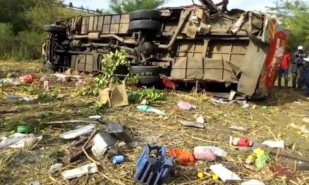 Kenya - bus - accident de circulation