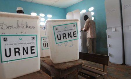 Kouto - élections - Urnes