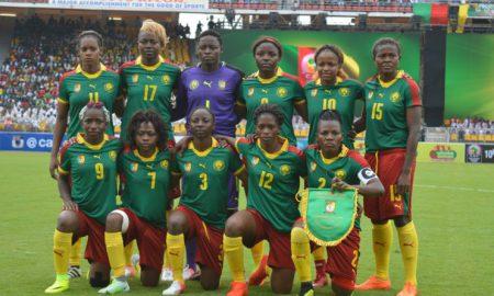 Lionnes Indomptables - Ghana - football - Cameroun