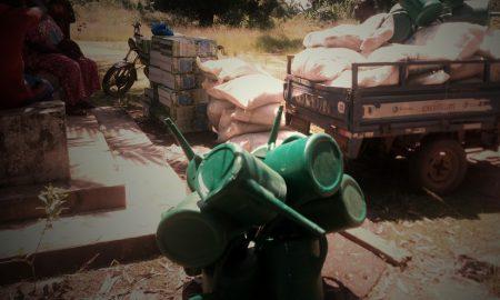 M'Bahiakro - matériel agricole - agriculture - JAAD