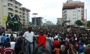 Marche - manifestation - Guinée - Conakry
