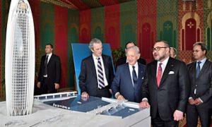 Maroc -BMCE BOA - BESIX - SIXCO - Rabat - infrastructures