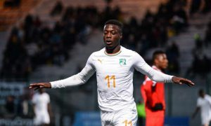 Nicolas Pépé - Football - éléphants - équipe nationale