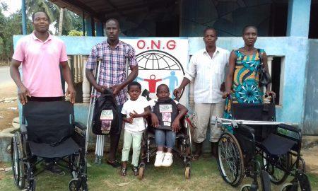 ONG Lobus Action - Songon - handicapés - matériel orthopédique - Joss Kezo
