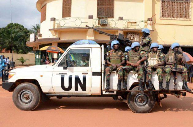 ONU - soldats - militaires - Centrafrique