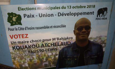 PDCI - M'Bahiakro - Kouakou Atchelaud