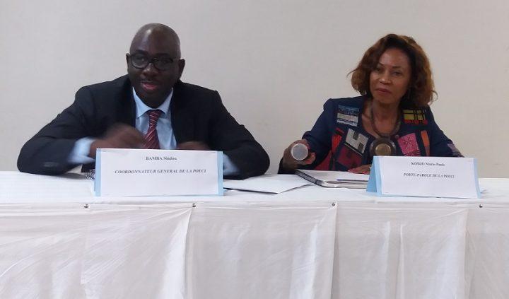 POECI - Bamba Sindou - Kodjo Marie-Paule - société civile - observateurs - élections