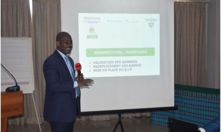 PROGEP-CI - Kouadio Georges - agriculture - pesticides - pollution