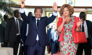 Paul BIYA - Chantal BIYA - Cameroun