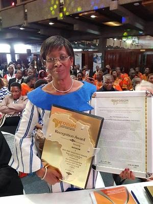 Pr Bakayoko-Ly Ramata - RUFORUM - forum - éducation