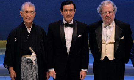 Prix Nobel - médecine - Tasuku Honjo -gauche - James P. Allison-droite
