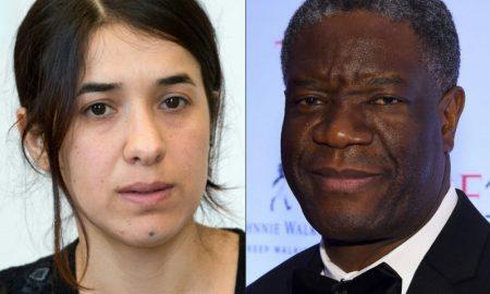 Prix Nobel - paix - Denis Mukwege - Nadia Murad
