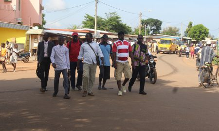 Séguéla - enseignants - marche - protestation