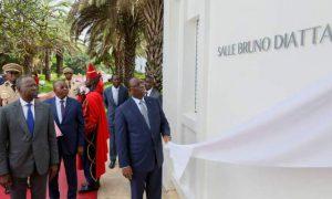Sénégal - Macky Sall - salle Bruno Diatta