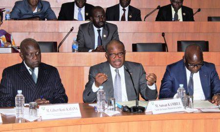 Sansan Kambilé - CESEC - Ministère de la Justice et des Droits de l'Homme - loi - institution