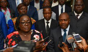 Sidiki Diakité - Anne Ouloto - saisons des pluies - gouvernement