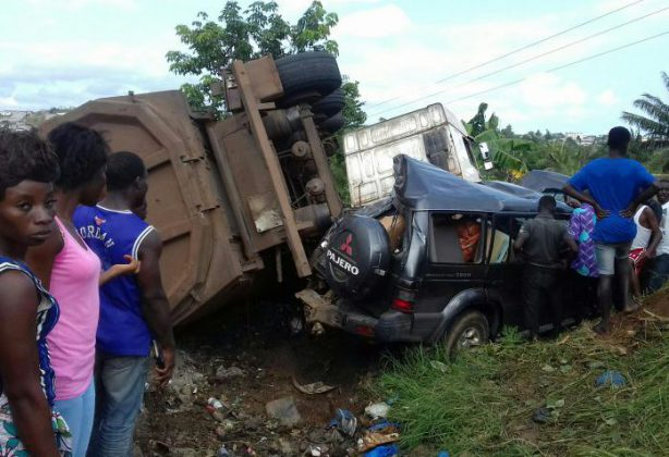 Songon - accident - camion - blessés - manganèse