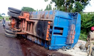 Tanda - camion -accident - Lomo