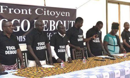 Togo - opposition - Front Citoyen Togo Debout