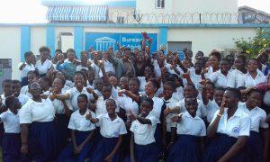 UNESCO - Murielle Ahouré - lycée - filles - éducation - société