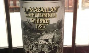 Whisky - The Macallan 1926 - insolite