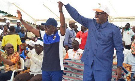 Yamoussoukro - RHDP - municipales - Kouamé Loukou Léon - Souleymane Diarrassouba