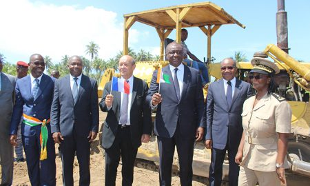 académie interntionale de lutte contre le terrorisme - Jacqueville - Le Drian - Hamed Bakayoko - sécurité