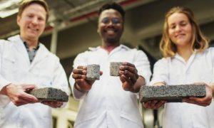 briques - urine - UCT - université du Cap