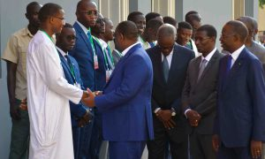 macky ucad Sénégal - Fallou Sène - Macky Sall