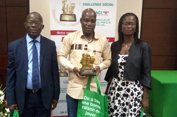 Challenge Social LONACI 2018 - Emmanuel kouassi -presse-société-éducation-culture