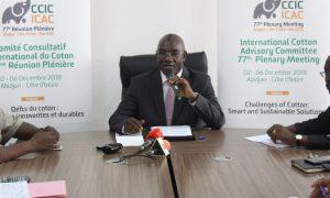 Conseil Coton-Anacarde - CCIC-ICAC - Dr Adama Coulibaly