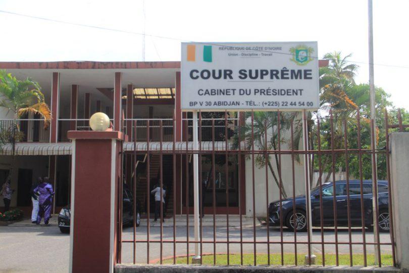 Cour Suprême - élections
