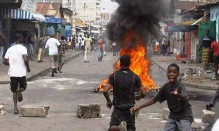 Zouan-hounien, des affrontements entre élèves et transporteurs