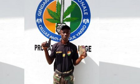 Faux-douanier-N'Doua Ehouman Roger - gendarmerie - Yamoussoukro