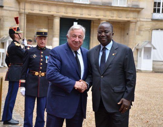 France-Gérard Larcher-Ahoussou Kouadio-sénat