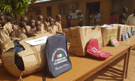 IEP Odienné - kits scolaires - Kabadougou