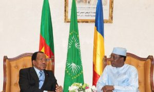 Idriss Deby - Paul Biya - CEMAC-Tchad-Cameroun