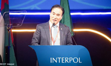 Kim Jong-Yang - Interpol-police