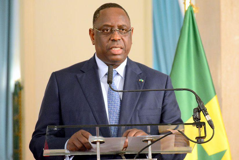 Macky-Sall-Sénégal-politique-présidentielle-Visite officielle du Pr gambien BARROW à Dakar