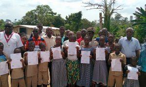 Orasur - Soubré - kits - jugement supplétif - Save the Children