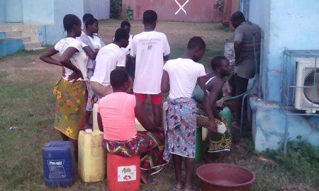 Pénurie d'eau Bocanda