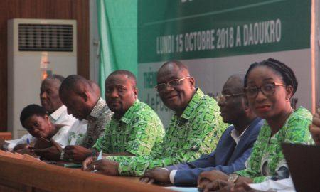 PDCI-RDA - campagne - Djoman -Guikahué - Ouégnin