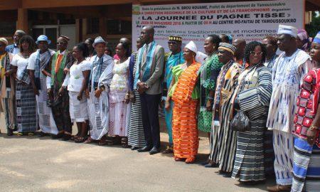 Pagne-tissé-culture-francophonie-Yamoussoukro-art-tissage